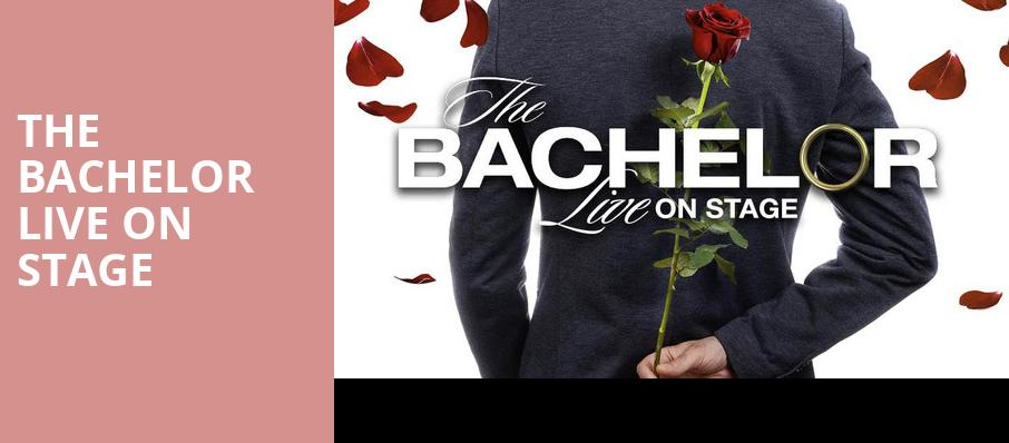 The Bachelor Live On Stage, Toyota Center, Seattle