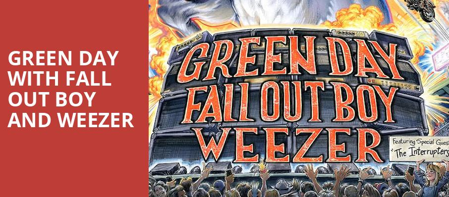 Green Day with Fall Out Boy and Weezer, T Mobile Park, Seattle