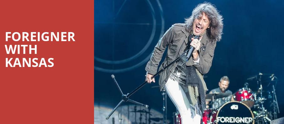 Foreigner with Kansas, White River Amphitheatre, Seattle