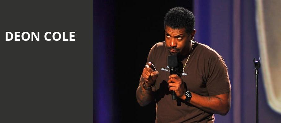 Deon Cole, Moore Theatre, Seattle