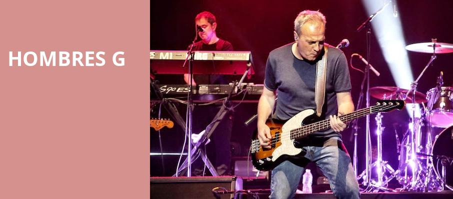 Hombres G, Neptune Theater, Seattle