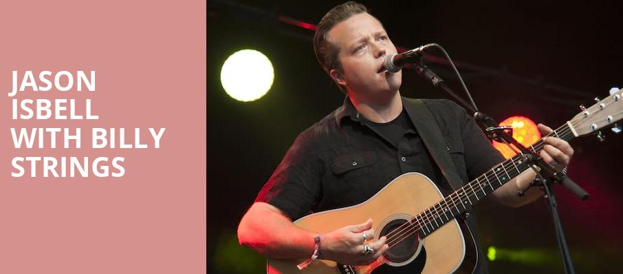 Jason Isbell with Billy Strings, Paramount Theatre, Seattle