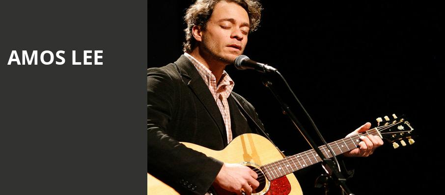 Amos Lee, Chateau St Michelle, Seattle