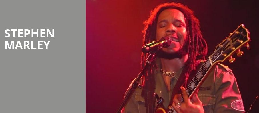 Stephen Marley, Showbox Theater, Seattle