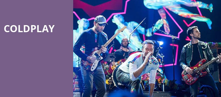 Coldplay, CenturyLink Field, Seattle