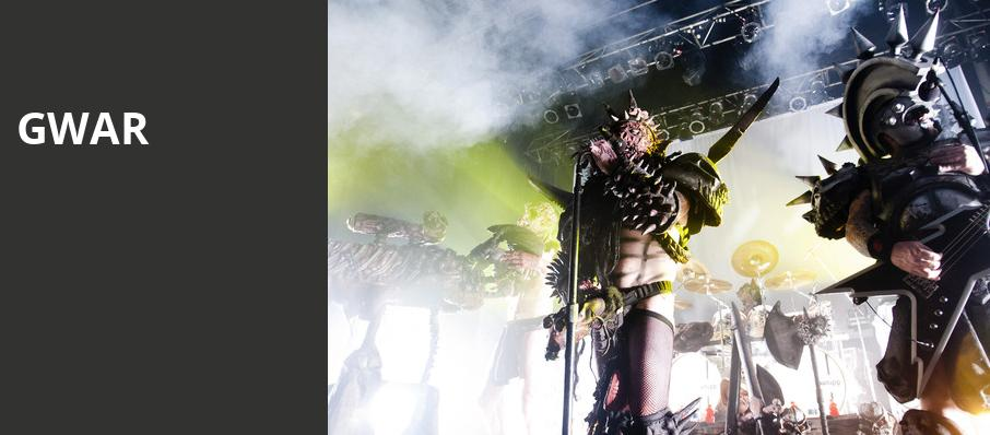 GWAR, Showbox SoDo, Seattle