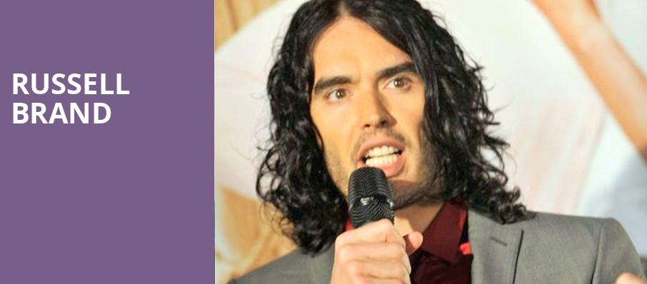 Russell Brand, Moore Theatre, Seattle