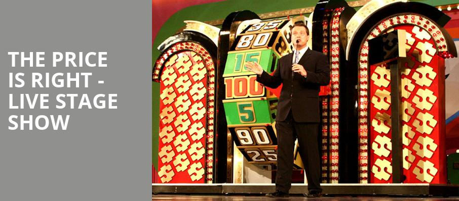 The Price Is Right Live Stage Show, Snoqualmie Casino Ballroom, Seattle