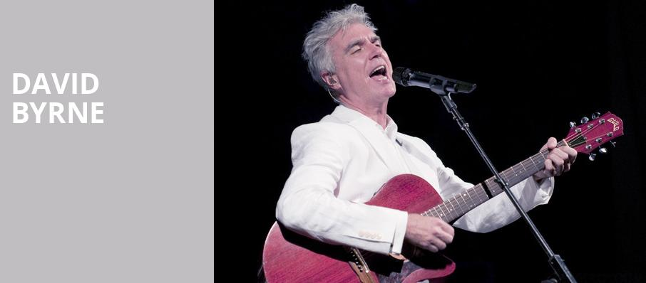 David Byrne, Paramount Theatre, Seattle