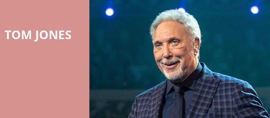 Tom Jones, Paramount Theatre, Seattle