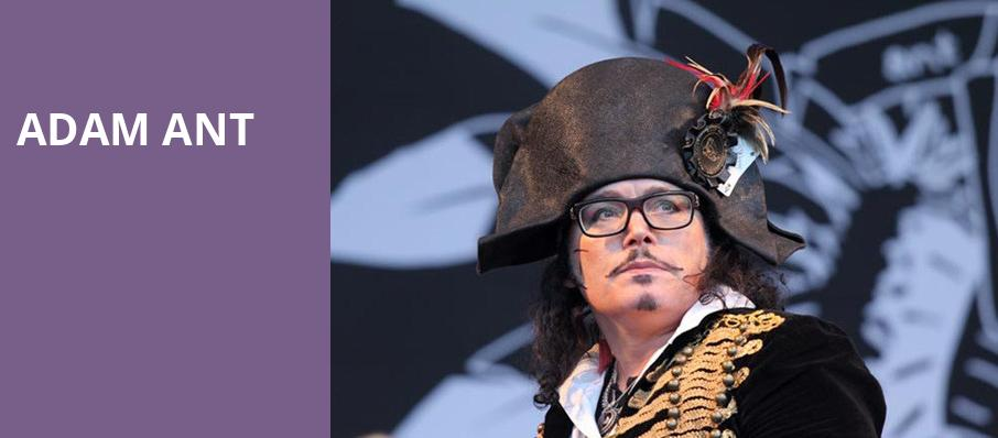 Adam Ant, Paramount Theatre, Seattle