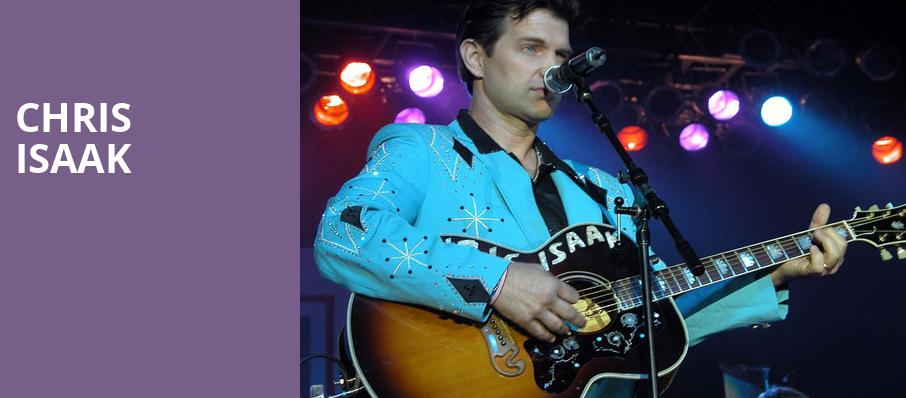 Chris Isaak, Chateau St Michelle, Seattle