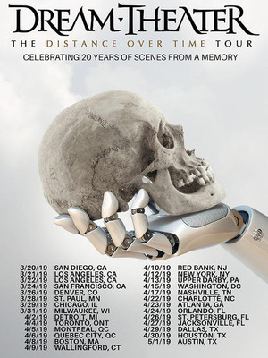 Dream Theater, Paramount Theatre, Seattle