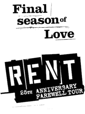 Rent, Paramount Theatre, Seattle