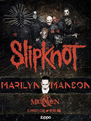 Slipknot Marilyn Manson Of Mice and Men, White River Amphitheatre, Seattle