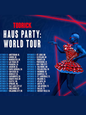 Todrick Hall, Pantages Theater, Seattle