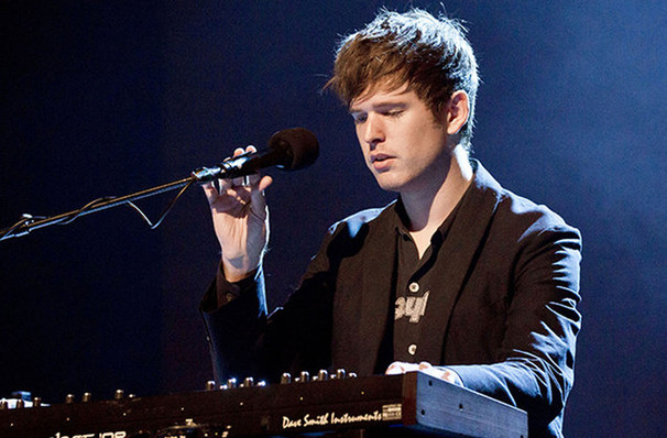 James Blake, Moore Theatre, Seattle